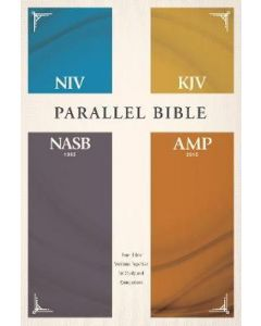 NIV   KJV   NASB   Amplified Parallel Bible-HC