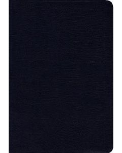 NIV Thinline Bonded-Navy, Index, Comfort Prt.