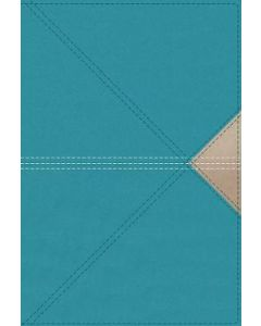 NASB Thinline Giant Print LtrSoft-Teal,  Comfort Print