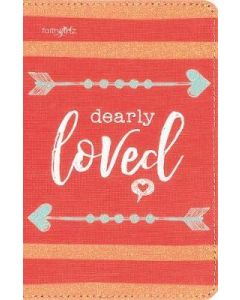 NIV  Girls' Ultimate Backpack Bible  Faithgirlz Ed.  Compact  Flexcover  Coral  Red Letter Ed.  Comfort Print