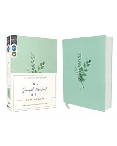 NIV Journal the Word Double-Column Bible-Cloth over Board, Teal