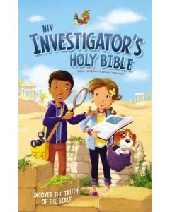 NIV Investigator's Holy Bible-HC  Age 6-10