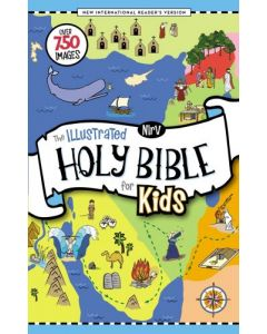 NIrV, The Illustrated Holy Bible for Kids - Hardcover