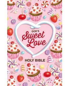 NIV God's Sweet Love Holy Bible-HC  Cft Print