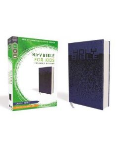 NIrV Bible for Kid Thinline Large Pr LtrSoft-Blue