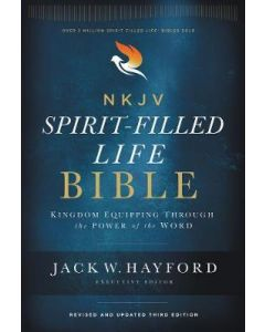 NKJV  Spirit-Filled Life Bible  3rd Ed.  Hardcover  Red Letter Ed.  Comfort Print