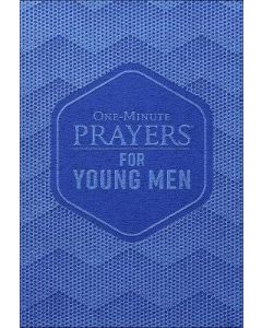 One-Minute Prayers For Young Men-Deluxe