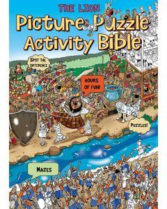 The Lion Picture Puzzle Activity Bible