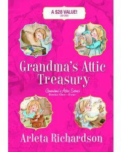 Grandma's Attic Treasury Series-Set of 4 (Novel)