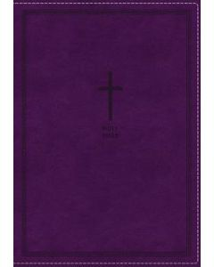 NKJV Thinline Ref.Large Print LtrSoft-Purple