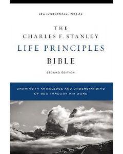 Niv  Charles F. Stanley Life Principles Bible  2nd Ed.  Hardcover  Comfort Print