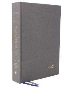 NASB MacArthur Study Bible (Hardcover, Gray)