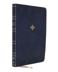 NKJV Thinline Ref.Bible LtrSoft-Blue