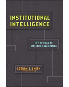 Institutional Intelligence
