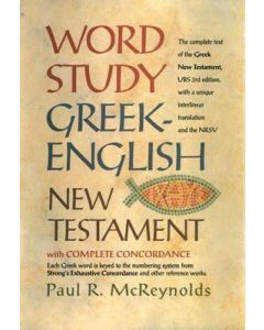 Word Study Greek-English N.T./Complete Concordance