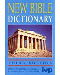 New Bible Dictionary (3 Edn.)