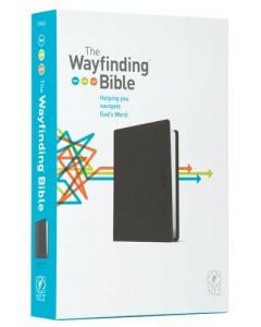 NLT Wayfinding Bible, The, Black LeatherLike