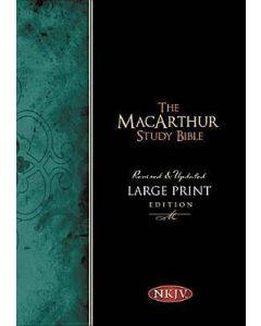 NKJV MacArthur Study Bible Large Print-HC  Mar20