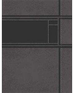 NKJV Study Bible, Leathersoft, Large Print, Charcoal Gray