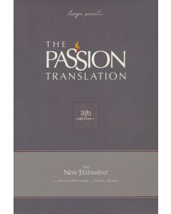 Passion Translation New Testament (2020 Edition) Large Print-Faux Leather, Teal