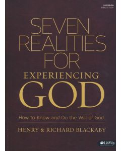 Seven Realities for Experiencing God Bible Study