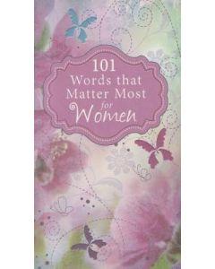 101 Words That Matter Most For Women (WMM004)