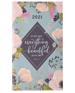 Planner 2021 (24 Month)-Everything Beautiful in His Time