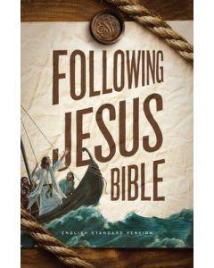 ESV Following Jesus Bible (Hardback)