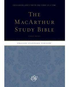 ESV MacArthur Study Bible (Black/Blue)