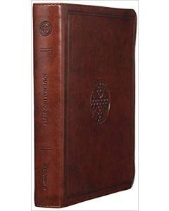 ESV Journaling Bible Trutone-Brown, Mosaic Cross