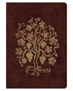 ESV Single Column Journaling Bible Large Print (Burgundy)
