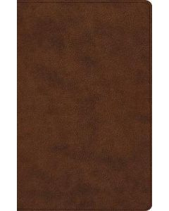 ESV Large Print Thinline Reference. TruTone-Brown