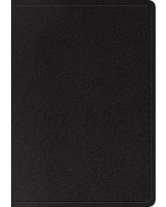 ESV Super Giant Print Bible Genuine Leather-Black