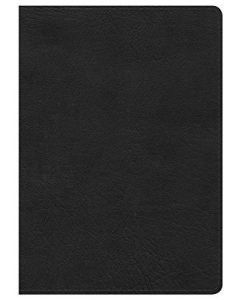 NKJV Large Print Compact Reference Bible, Black Leather Touch