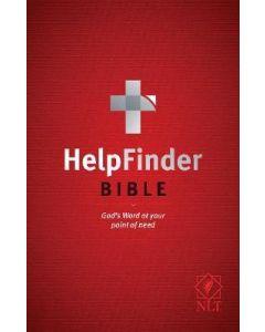 NLT HelpFinder Bible-SC