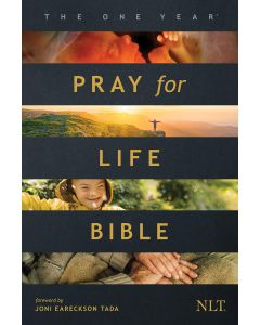 NLT One Year Pray for Life Bible-SC