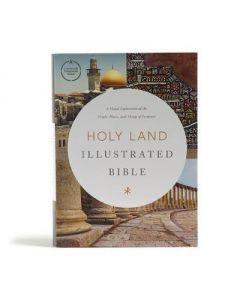 CSB Holy Land Illustrated Bible-HC