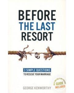 Before the Last Resort