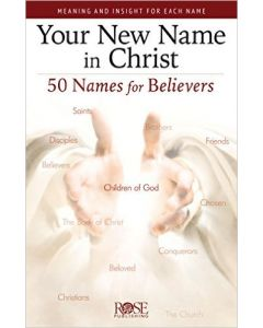 Your New Name In Christ-Pamphlet