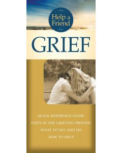 Help a Friend: Grief-Pamphlet