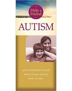 Help a Friend: Autism- Pamplet