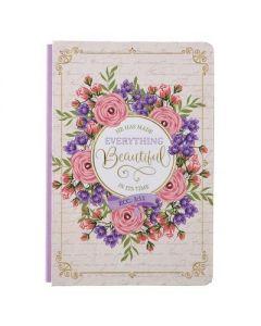 Journal: Beautiful In It's Time, Ecc 3:11, Hardcover