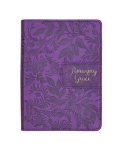 Journal:FauxLtr-Amazing Grace, Purple, JL492