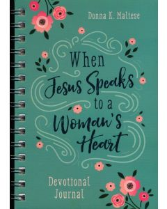 Journal with Devotion-When Jesus Speaks to a Woman's Heart