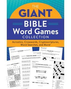Giant Bible Word Games Collection