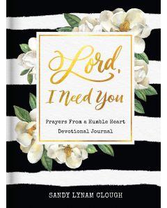 Journal with Devo-Lord, I Need You, Prayer, J2029
