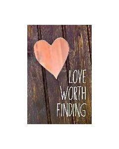 Tracts-Love Worth Finding, 25/Pack