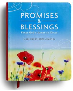 Journal with Devotions-Promises & Blessings, 91629