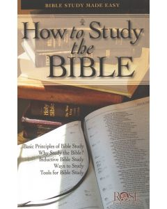 How to Study the Bible-Pamphlet