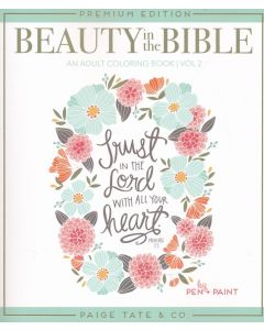 Beauty in the Bible Color Book 2: Trust in the Lord